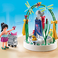 Playmobil Shopping Mall - Clothing Display with LED Podium