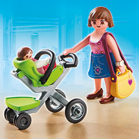 Playmobil Shopping Mall - Mother with Stroller