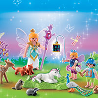 Playmobil Advent Calendar - Unicorn Birthday in Fairyland