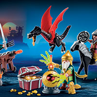 Playmobil Advent Calendar - Dragon's Treasure Battle
