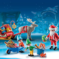 Playmobil Advent Calendar - Santa Workshop