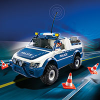 Playmobil RC Police Car with Camera Set