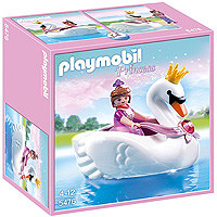 Playmobil Princess - Princess with Swan Boat