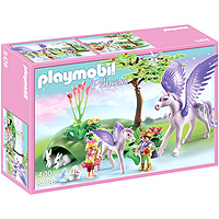 Playmobil Princess - Royal Children with Pegasus and Baby