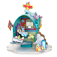 Feathered Friends Post Office Playset Kit