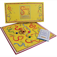 Snakes & Ladders Retro Game