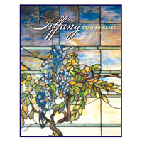 Tiffany Stained Glass Translucent Coloring Book