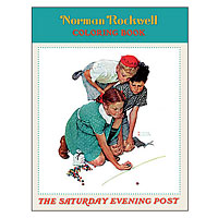 Norman Rockwell Coloring Book
