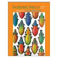 Incredible Insects Coloring Book