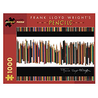 Frank Lloyd Wright's Pencils - 1000 piece puzzle