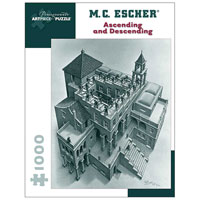 M. C. Escher Ascending and Descending - 1000 piece puzzle