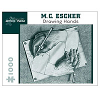 M. C. Escher Drawing Hands - 1000 piece puzzle