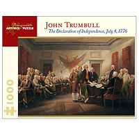 Declaration of Independence - 1000 piece puzzle