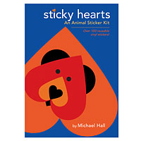 Sticky Hearts - An Animal Sticker Kit