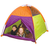 My Tent with Zippered Mesh Front