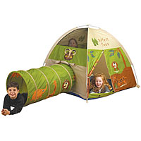 Jungle Safari Tent/Tunnel Combination