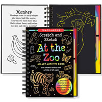 Scratch & Sketch Trace-Along - At the Zoo