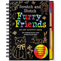 Scratch & Sketch Trace-Along - Furry Friends