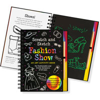 Scratch & Sketch Activity Book - Fashion Show