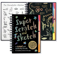 Super Scratch & Sketch: A Cool Art Activity Book