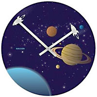 Into The Universe Wall Clock