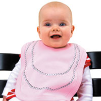Pearl Necklace Bib