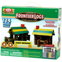 Frontier Logs - 114 Pieces