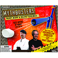 Mythbusters Science Kit - Burp, Barf & Blow