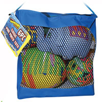 6 pc Classic Pool Party Tote
