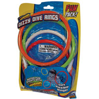 Dizzy Dive Rings - 4 pack