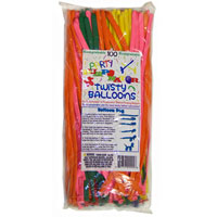 Biodegradable Twisty Balloons - 100 pc