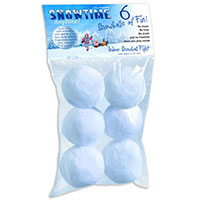 Snowtime Snowballs - 6 pack