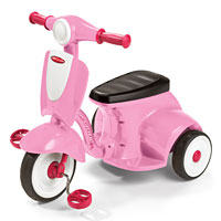 Girls Classic Lights & Sounds Trike