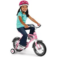 Radio Flyer Classic Pink 12 inch Cruiser