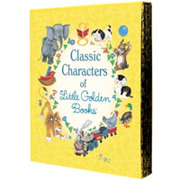 Classic Characters of Little Golden Books - 5 Book Set