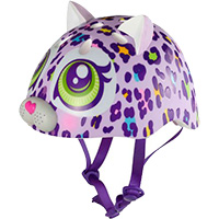 Color Cat Helmet - Purple