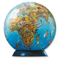 PuzzleBall - 240 piece World Globe