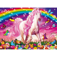 Horse Dream 100 pc Glitter Puzzle