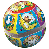 Numbers Preschool Puzzleball - 40 pc