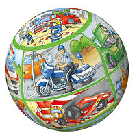 People at Work Preschool Puzzleball - 40 pc
