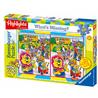 Highlights Lemonade Stand - What's Missing 60 pc Puzzle