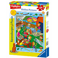 Highlights Backyard Barbecue - 100 pc Hidden Pictures Puzzle