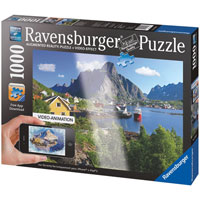 Lofoten, Norway Augmented Reality Puzzle - 1000 pc