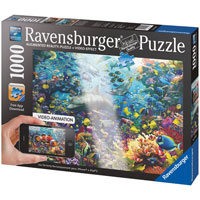 Colorful Underwater Kingdom Augmented Reality Puzzle - 1000 pc