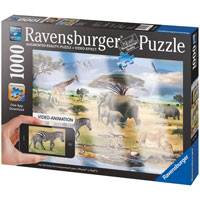 Animal of Africa Augmented Reality Puzzle - 1000 pc