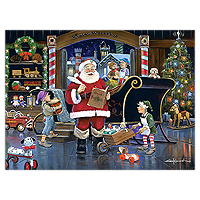 Santa's Workshop Puzzle - 300 pc