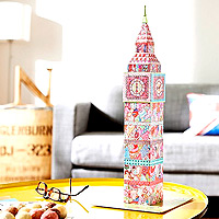 Tula Moon Big Ben 3D Puzzle - 216 pc