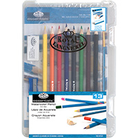 Watercolor Pencil - 13 piece Art Set