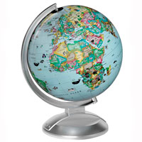 Globe 4 Kids 10 - Illuminated
