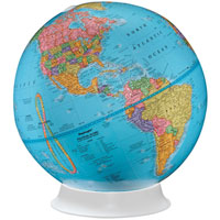 Apollo Political Globe - 9 inch